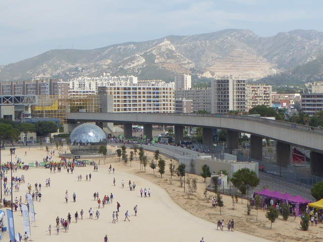 Marseille from velodrome