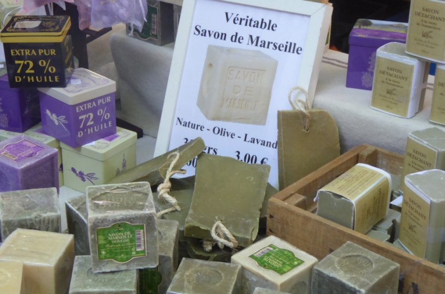 Authentic Marseille soap