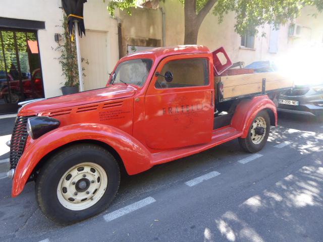 vintage red ride