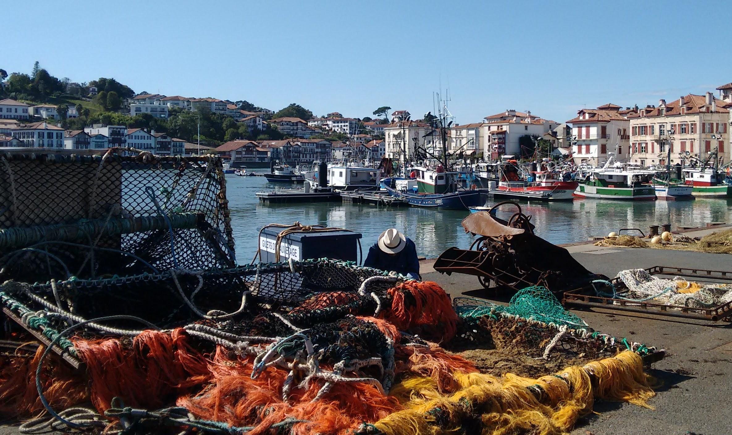 Fishing port St J d Luz