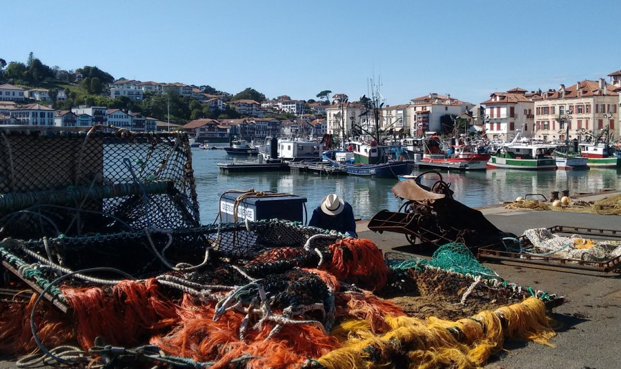 Fishing port St J d Luz