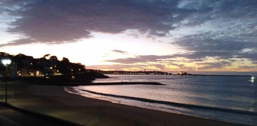 Sunset St. J de Luz