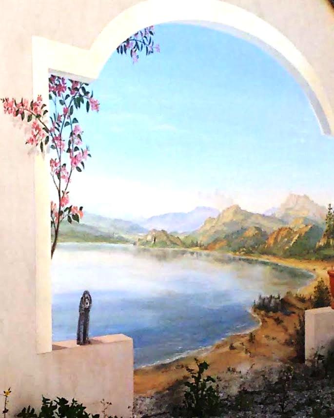 Mural Clos Mozart